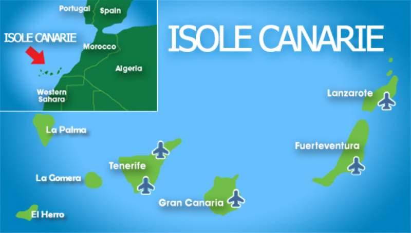 Cartina Delle Canarie.Dove Si Trova Tenerife Ecco La Risposta Tenerife Tour